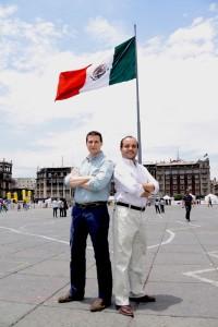 DiegoBallesteros y EvaristoBabé, socios fundadores