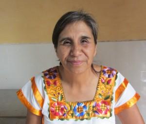 Foto Margarita Muciño, coordinadora general del proyecto Xuajin Me Phaa