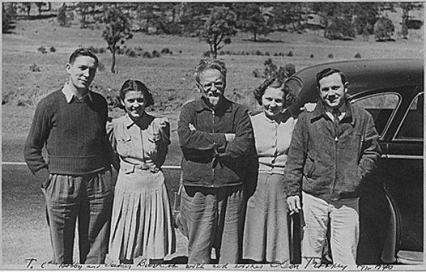 Trotsky en México.